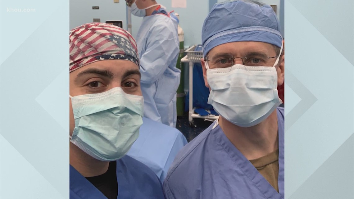 Coronavirus: Houston surgeon, nurse save lives aboard USNS ...
