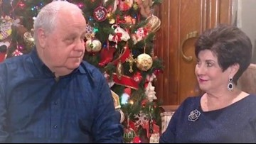Woodlands couple marries after dating 41 years