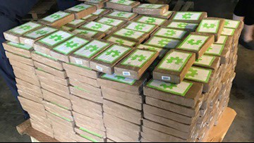 That's bananas! Nearly $18,000,000 worth of cocaine found in boxes of bananas
