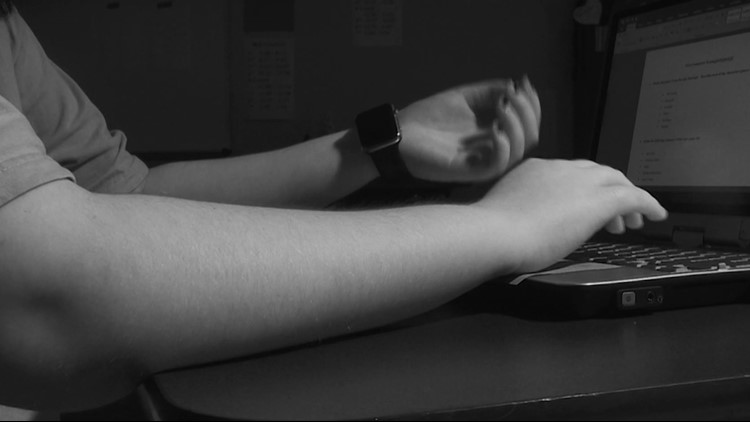 Students also use their smartwatches to hide answers while taking a test.