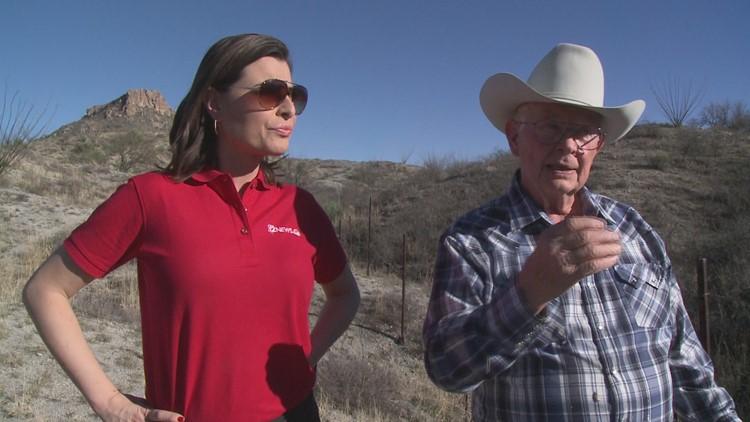 Rancher uses football metaphor for border defense