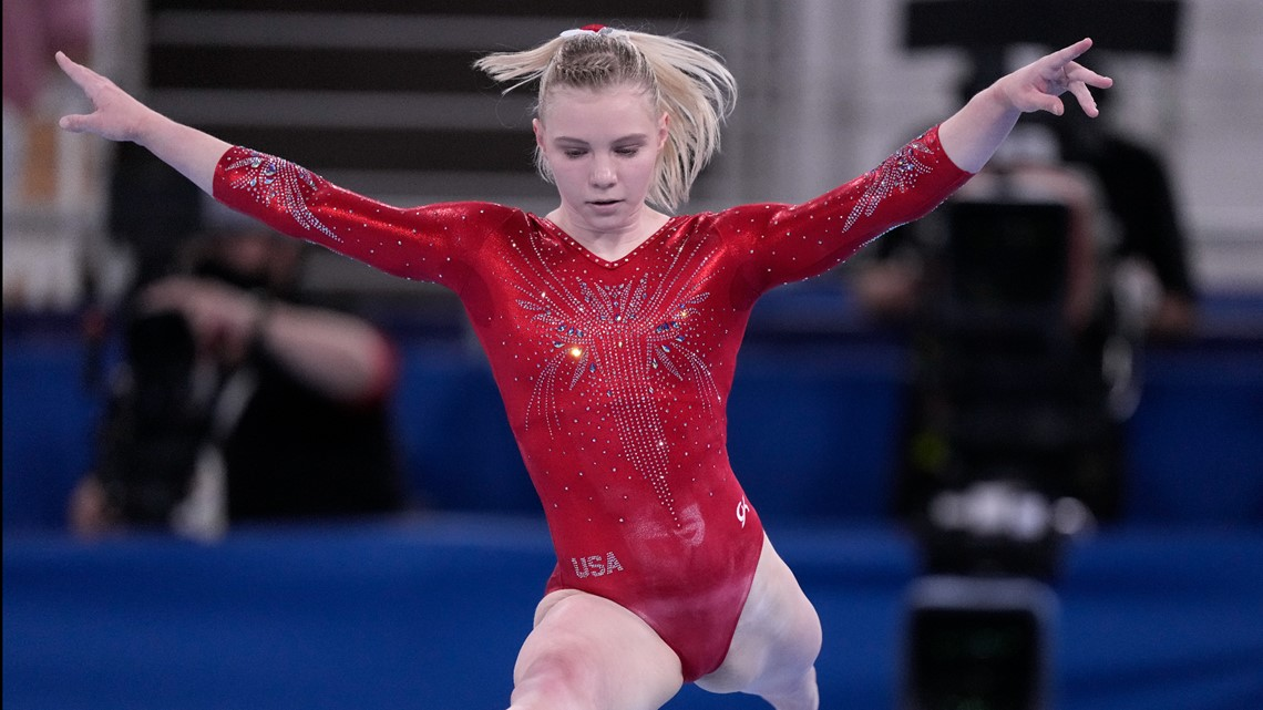 Jade Carey — and potentially gymnastics' most difficult skill — enters all-around final