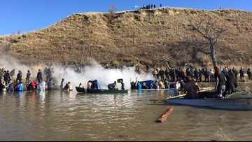 2,000 veterans to give protesters a break at Standing Rock