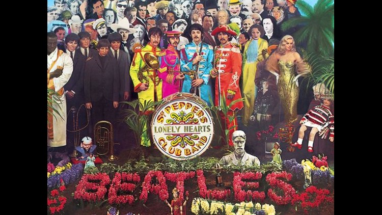 "This is the cover of the Beatle's album ""Sgt. Pepper's Lonely Hearts Club Band.""   (Photo: ©Apple Corps Ltd.)"