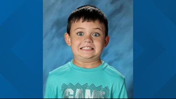First grader takes hilarious school photo