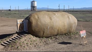 Big Idaho Potato turned into a hotel