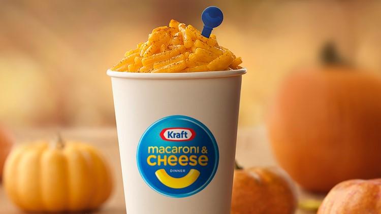 Kraft introduces Pumpkin Spice Macaroni & Cheese