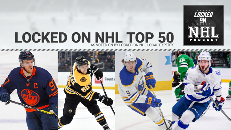 Rankings: These are the Top 50 NHL players heading into the 2021-22 season