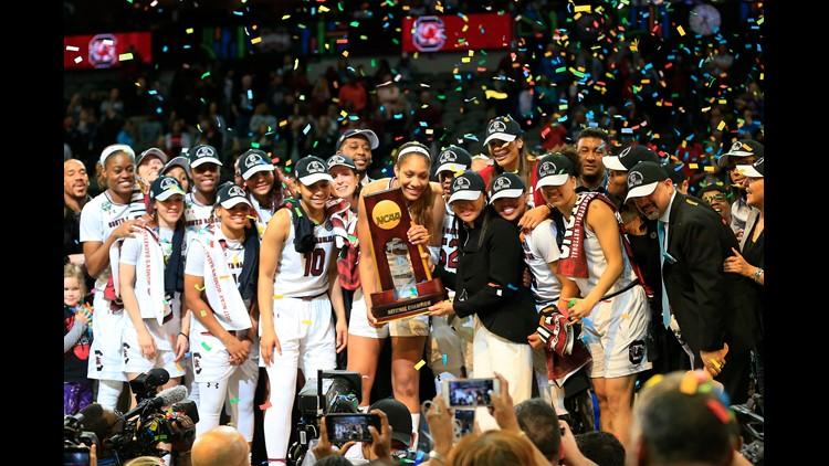 South Carolina Gamecocks NCAA trophy