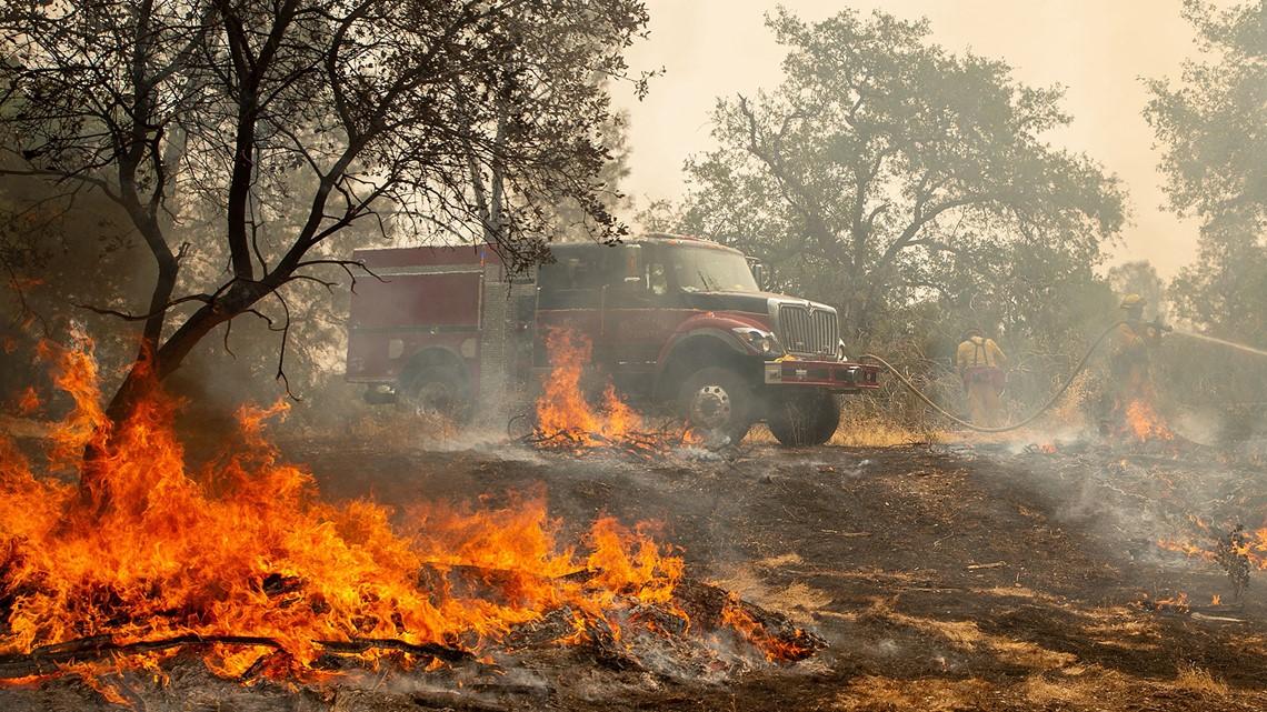 Five Dead As California Wildfire Spells Doom On Neighbourhoods