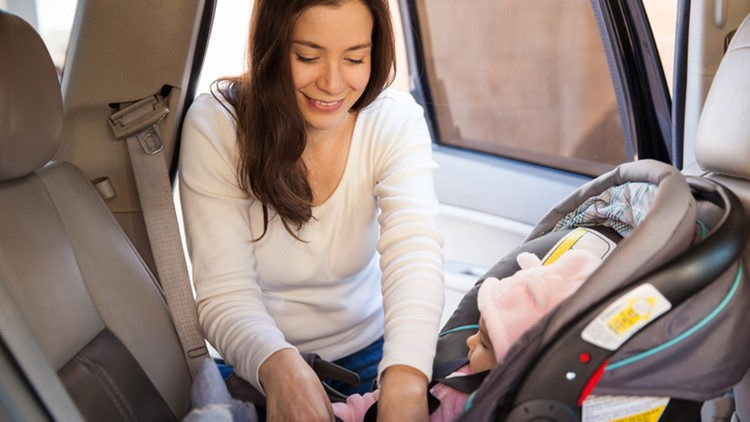 Pediatricians: Keep child in rear-facing vehicle seat as long as possible