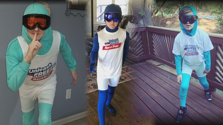 The Freeze became a popular Halloween costume in 2017, thanks to Nigel Talton's viral races against fans at Atlanta Braves games.