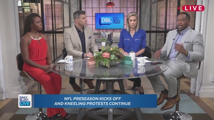 Daily Blast Live's Al Jackson gets candid about NFL protests