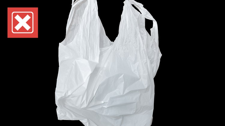 No, a woman was not filmed filling plastic bags with gasoline during the 2021 supply shortage