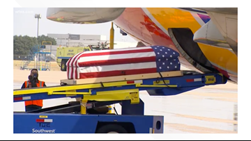 Veteran's journey: 52 years later, Southwest Airlines pilot brings home father's remains