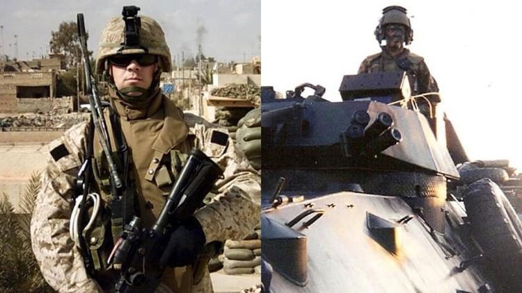 Sam Deeds military photos