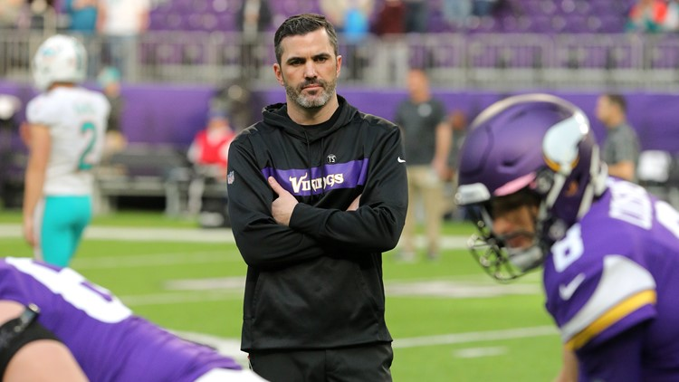 Minnesota Vikings interim OC Kevin Stefanski