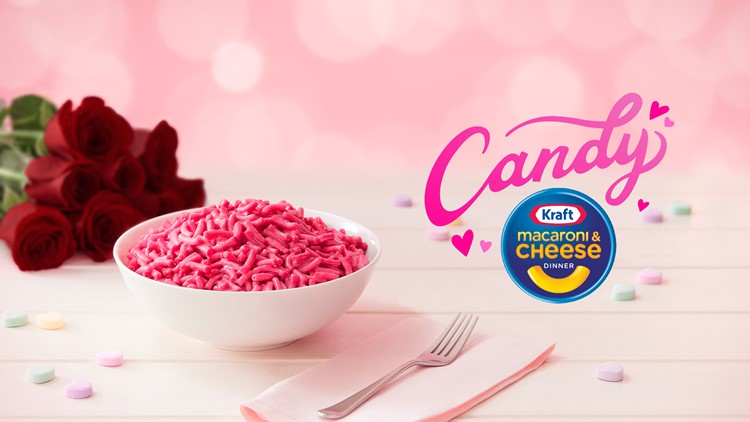Kraft releases 'candy' mac and cheese ahead of Valentine's Day
