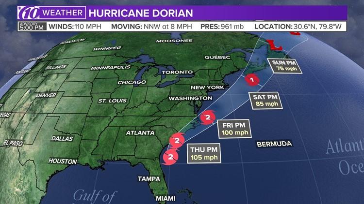 Live blog: Dorian makes landfall in Canada | kare11 com