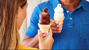 Dairy Queen handing out free ice cream for the first day of summer