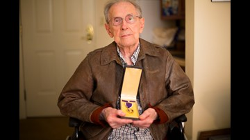 At 97, vet's WWII story is his favorite to tell
