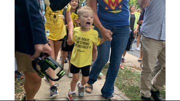 He beat cancer at 3 years old. For his first healthy birthday he got an unforgettable surprise