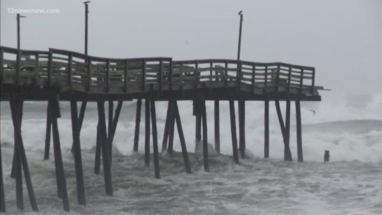 Outer Banks' Avalon Pier and Nags Head Pier heavily damaged by Hurricane  Dorian