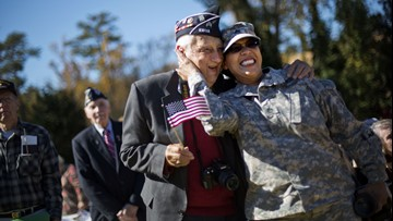 Lots of freebies and discounts available to veterans on Veterans Day