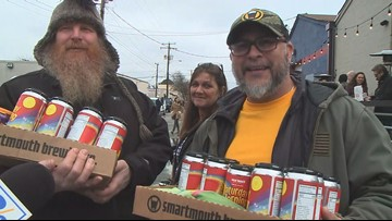 'Magically ridiculous': Hundreds line up for Smartmouth's Lucky Charms-inspired beer