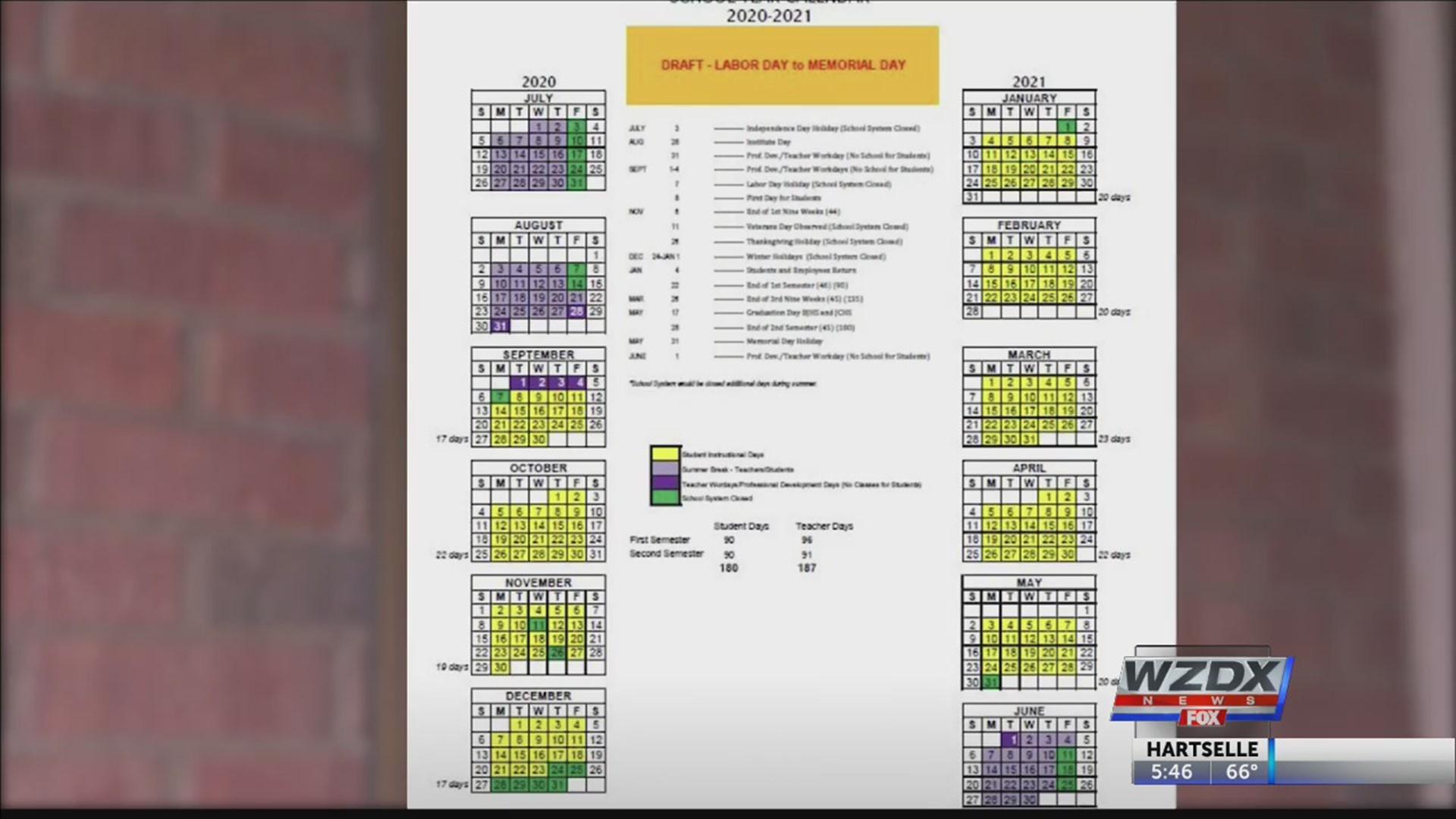 Minneapolis Public Schools Calendar 2021-2022 Proposed school calendar prompts Huntsville City Schools to call